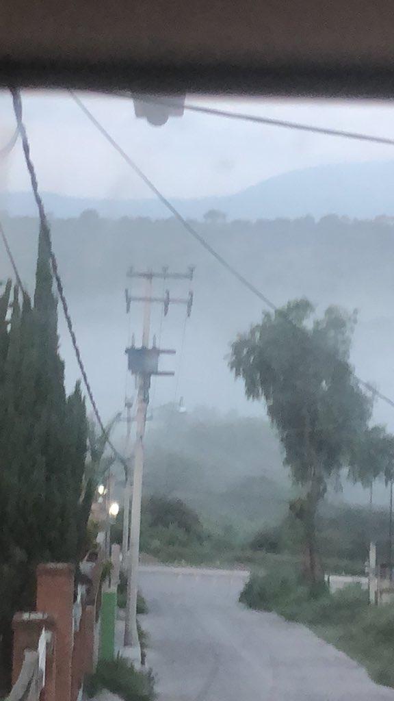 Por nube tóxica suspenden clases en 4 comunidades