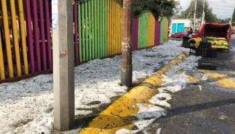Pronostican lluvias y posible caída de granizo en CDMX