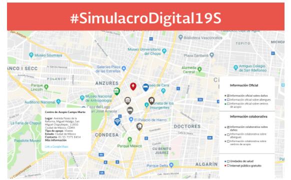 México activa protocolo digital de respuesta a emergencias