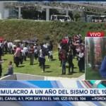 Puebla se suma al simulacro nacional