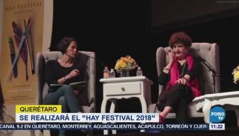 """Querétaro realizará el """"Hay Festival 2018"""""""