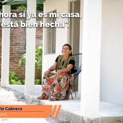 Dan a conocer resultados del programa Reconstruyamos, de Fundación Televisa