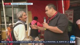 Repor entrevista a taquero que trabaja frente a Metro Balderas