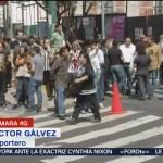 Reportan sismo en la colonia Narvarte, CDMX