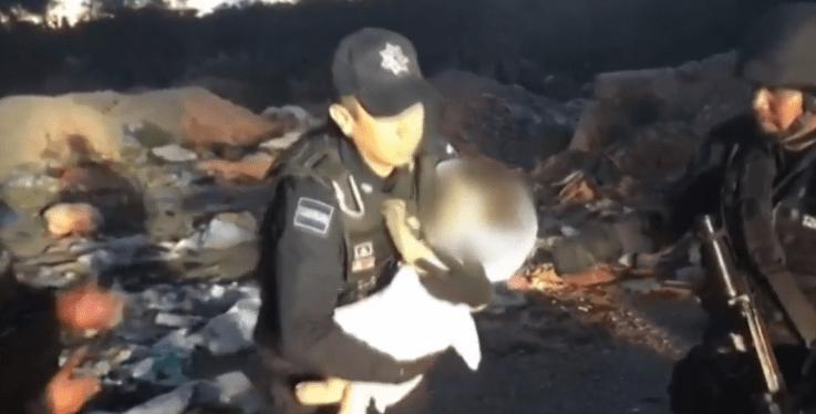 Rescate de bebé secuestrada en SLP fue montaje, dice la Fiscalía