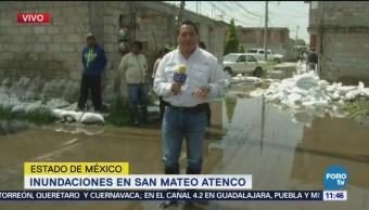 Río Lerma inunda cientos de casas en San Mateo Atenco
