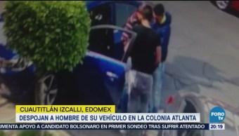 Roban automóvil a señor en Cuautitlán Izcalli
