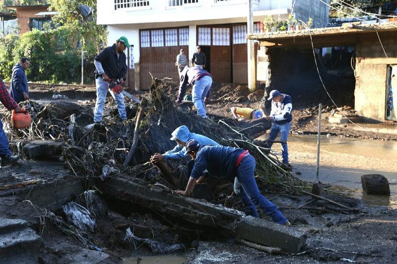 muertos, desbordamiento rio cutio michoacan victimas