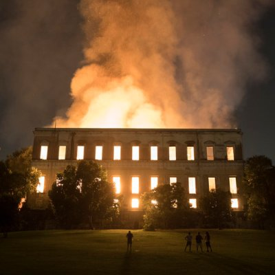 Videgaray externa solidaridad por incendio del Museo Nacional de Río de Janeiro