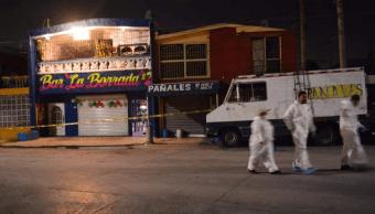 ataque bar monterrey muertos fiscalia balacera