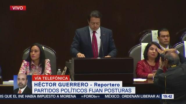 Ruiz Massieu Destaca Aciertos Gobierno Federal Diputados Interrumpen Discurso