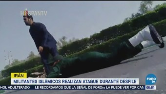 Militantes Islámicos Realizan Ataque Durante Desfile Irán