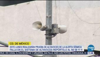 Cdmx Realizará Pruebas Audio Altavoces Lunes