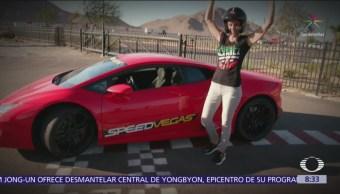 Saúl El Canelo Álvarez habla su pasión por automovilismo