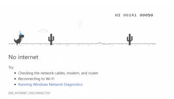 Google explica Orígenes del juego de dinosaurio