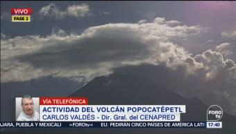 Se Forma Domo Cráter Popocatépetl