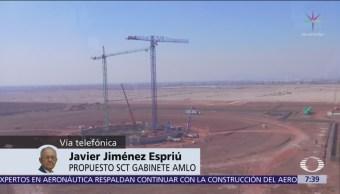 Se instrumentará tercera opción tema aeropuerto Jiménez