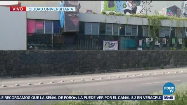 Se reestablecen clases en Filosofía y Letras de la UNAM