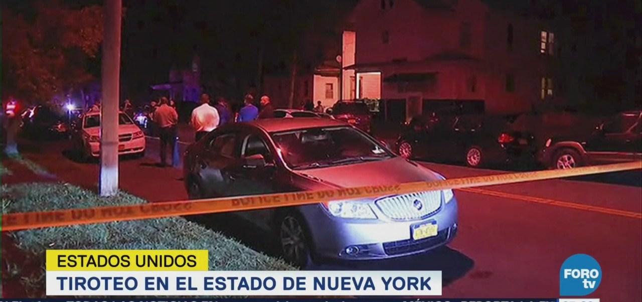 Se registra tiroteo en Syracuse, Nueva York