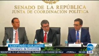 Secretario De Economía Reunió Senadores