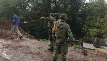 Cinco muertos por lluvias en Peribán, Michoacán