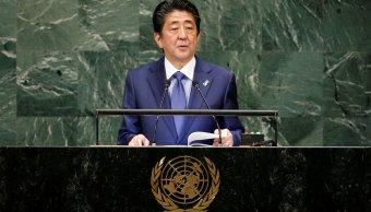Shinzo Abe dice estar dispuesto a reunirse con Kim Jong-un