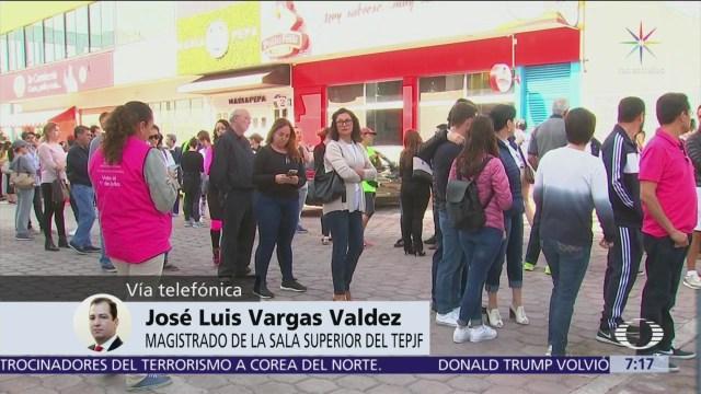 Sí podría anularse elección de Puebla, dice magistrado