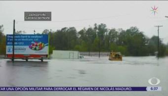 Siguen las lluvias e inundaciones en Carolina del Norte