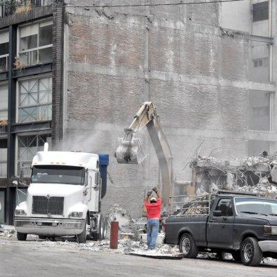 Sismo 19S: Ruta del cascajo y escombro tras demoliciones en CDMX