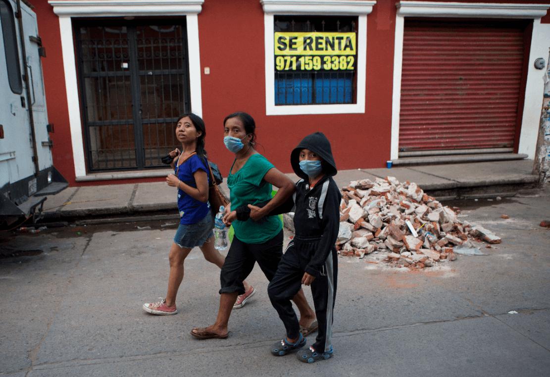Sismo de septiembre de 2017 en Oaxaca. (AP, archivo)