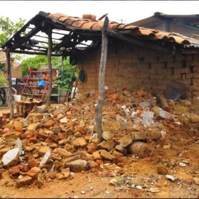 Damnificados del sismo 7S en Chiapas denuncian entrega incompleta de recursos