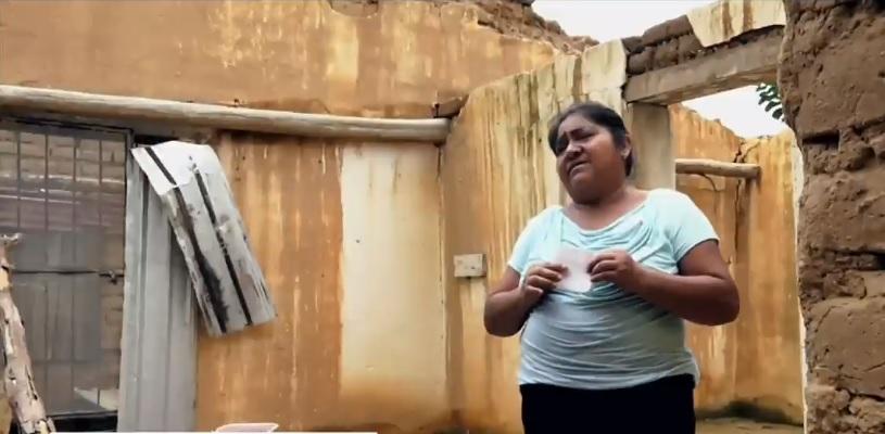 Sismo en Chiapas mantiene a damnificados en casas improvisadas