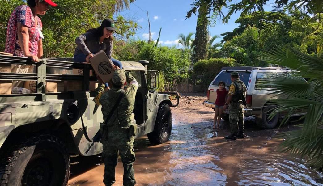 Sinaloa mantiene suspensión de clases en zonas de inundaciones