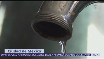 Suministro de agua se verá afectado en GAM y Azcapotzalco
