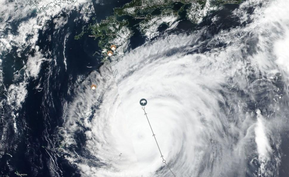 Súper Tifón Jebi 3