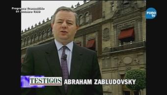 Testigos con Abraham Zabludovsky Moviemiento Estudiantil Matanza Tlatelolco