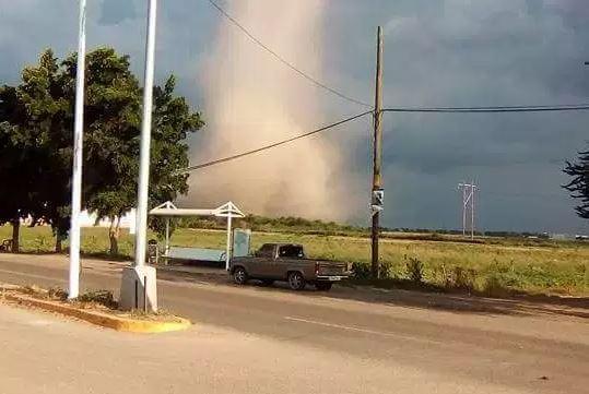 tornado sorprende habitantes de navolato sinaloa