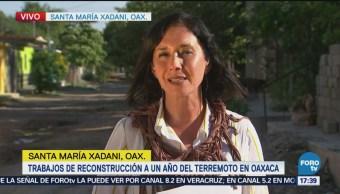 Trabajos Reconstrucción Año Terremoto Oaxaca