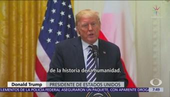 Trump afirma que tendrá buena relación con López Obrador