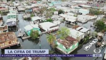 Trump Es invento cifra de muertes en Puerto Rico por María