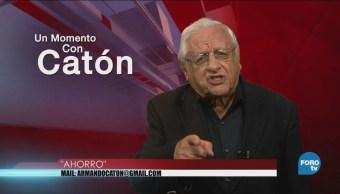 Un momento con Armando Fuentes 'Catón' del 3 de septiembre