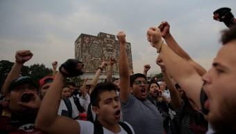 unam-manifestacion-marcha-cu-rectoria-no-violencia-porros