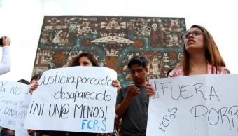 Indignada, comunidad universitaria tras agresión de presuntos porros en la UNAM