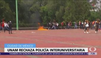 UNAM rechaza propuesta CDMX crear olicía Interuniversitaria