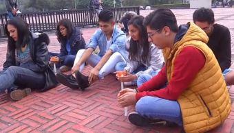 alumnos trabajadores unam manifestacion silenciosa porros