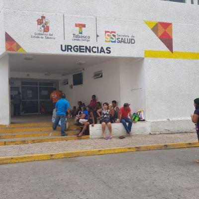 Más de 12 mil empleados de Salud mantienen paro de labores en Tabasco