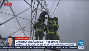 Amenaza De Suicidio En Eje 6 Sur Javier Rojo Gómez