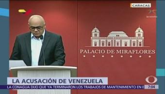 Venezuela acusa a México, Chile y Colombia de conspirar