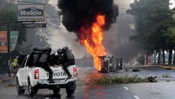 Manifestaciones a favor y contra Ortega dejan 2 heridos en Nicaragua