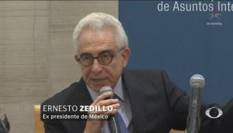 Zedillo Propone Legalización Drogas Expresidente México